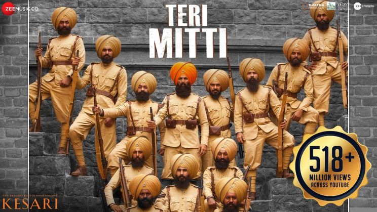 teri-mitti-lyrics in Hindi
