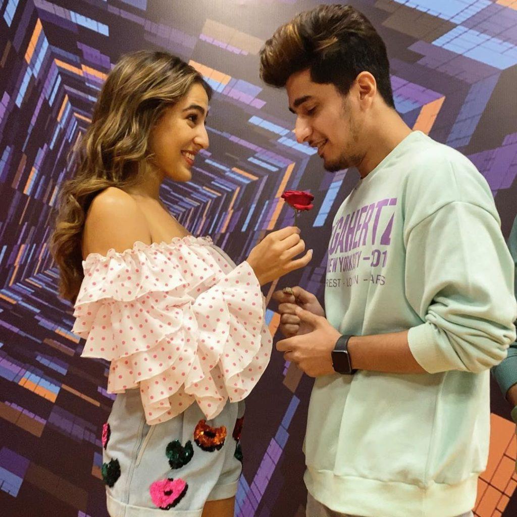Bhavin Bhanushali with Sara Ali khan