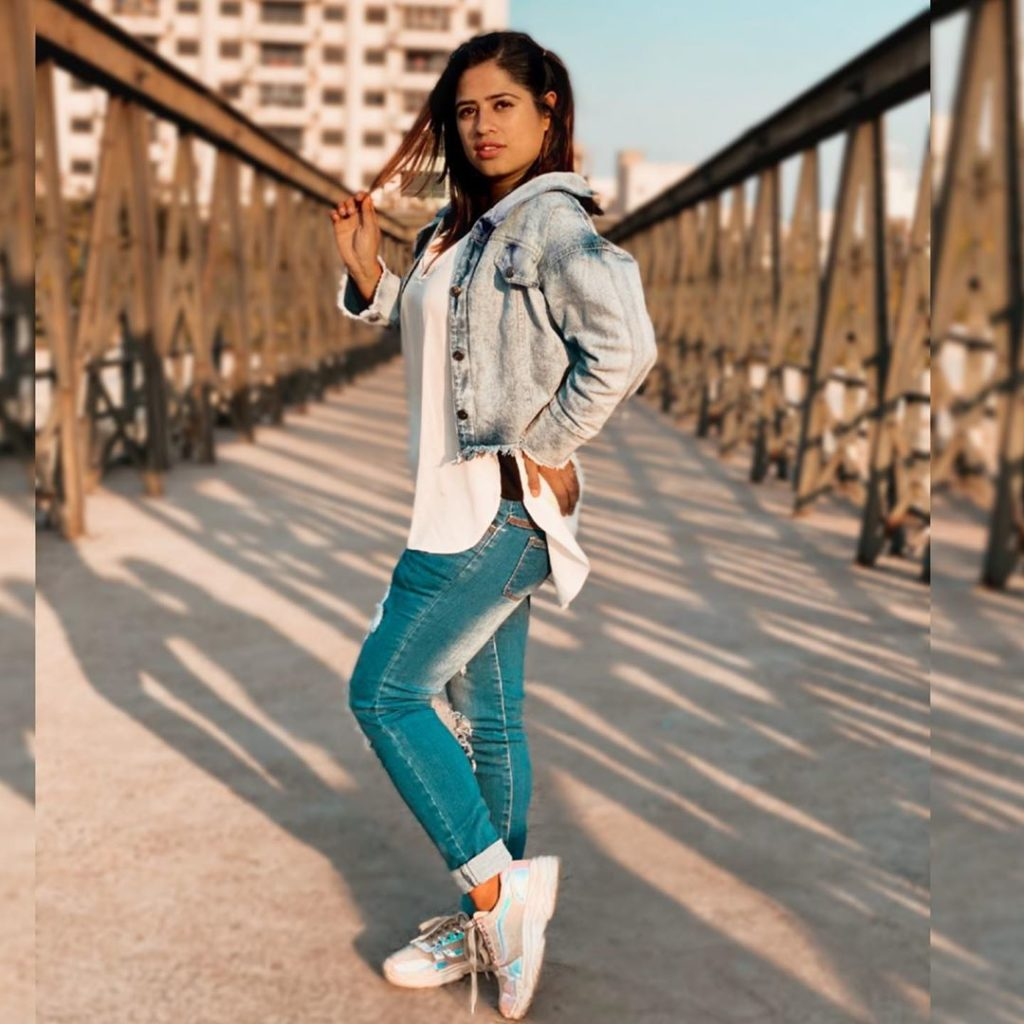 Shivani Kapila during a Photoshoot