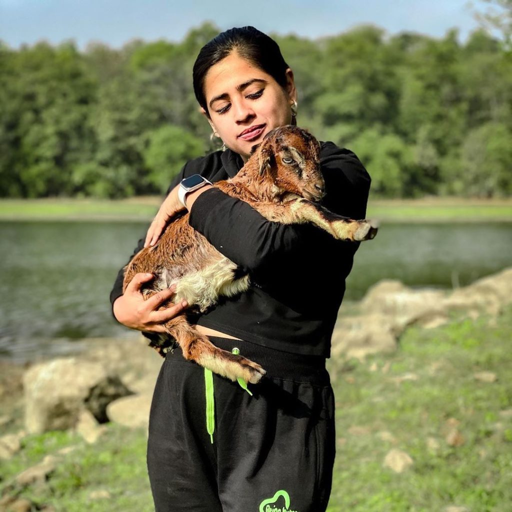 Shivani Kapila Love Animals
