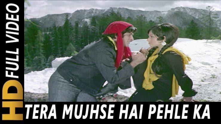 tera-mujh-se-hai-pahale-ka-naata-koi-hindi-lyrics